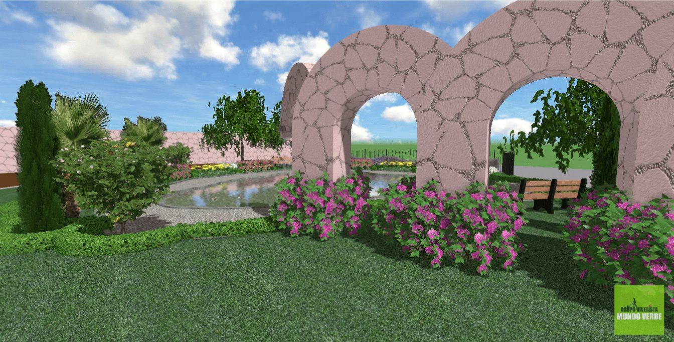 Render paisajista para Cristal y LAvisa
